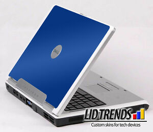 BLUE Vinyl Lid Skin Cover Decal fits Dell Inspiron 6000 Laptop