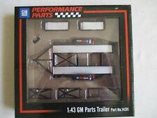 Miniature Trailer Double Axles Chevrolet 1/43 GM Trailor GMP 14311