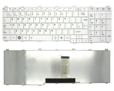 Replacement For TOSHIBA SATELLITE C660D-1HK Laptop Keyboard w/ Frame (White) UK