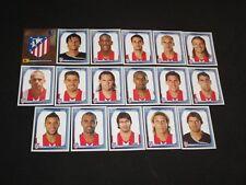 CLUB ATLETICO MADRID Equipe team Complete panini CHAMPIONS LEAGUE UEFA 2008-2009