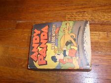 ANDY PANDA & THE MAD DOG MYSTERY, vintage BIG LITTLE BOOK, vg-