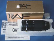 Nikon Nikkor AF 70-210 mm / 1:4 mit OVP / matching box und Unterlagen