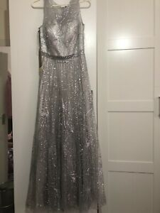 long evening dress size 10 12 new woth tag have not wear year, bought it for 150