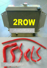 Aluminum radiator + hoses for SUZUKI SIERRA 1.0L 1.3L SJ410/413 1981-1996 MT