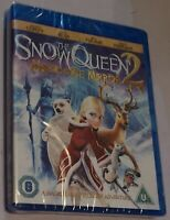 The Snow Queen 2 Magic Of The Ice Mirror Blu-Ray Region B UK Rated U
