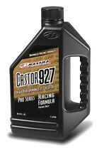 Maxima Castor 927 two-stroke racing engine premix oil 1-litre M9271