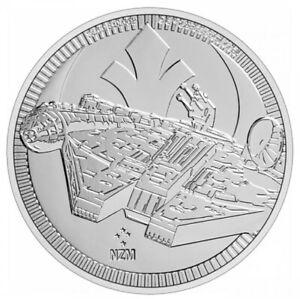 2021 - $2 Niue Star Wars Millennium Falcon 1 oz .999 FINE Silver In capsule