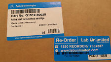 Agilent G1312-60025 Active Inlet Valve without cartridge