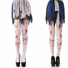 Halloween Blood Stocking Party Masquerade Cosplay Props Socks Leggings Costume