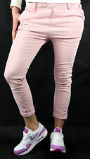 PLEASE Chinos P63 HOSE Jeans Neu XS Rosa Used Look Made in Italy Fashion 256