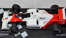 Solido  McLaren Tag Turbo MP 4/2 B  #2 Alain Prost 1:18 mit OVP / DVD-Box