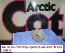 "Arctic Cat NOS Drive Sprocket, 39 tooth RC35-2 # 0116-156 Vintage 1"" Spline"
