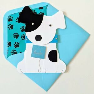 Papyrus Friendly Dog Thank You Card - You're so Wonderful