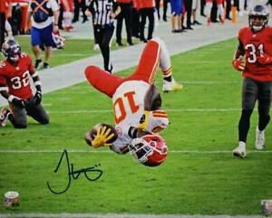 Tyreek Hill Autographed/Signed Kansas City Chiefs 16x20 Photo JSA 30435 HM