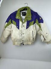Vintage Ski Racing Jacket Size M Rapido Essess Sports Women's RARE!!