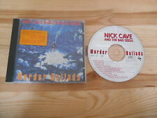 CD Indie Nick Cave and the Bad Seeds-Murder Ballads (10) canzone mute