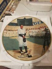 Vintage Lou Gehrig Delphi Collectible Plate