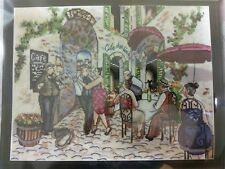 """Design Works Cafe Dance Counted Cross Stitch Kit 10"""" x 14""""  #2854"""