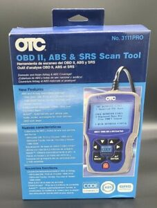 OTC scan tool / 3111 PRO / OBDII / EOBD / ABS & SRS in excellent condition