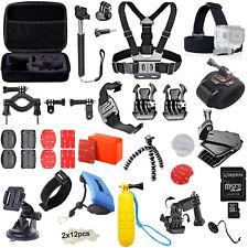 Kit di Accessori Completo Per Fotocamera Go Pro GoPro Hero 6 5 4 3+ 3 2 1