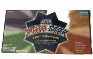 The Math Star Word Problem Game Educational Grades 4-6 Ages 9+ New Sealed RARE