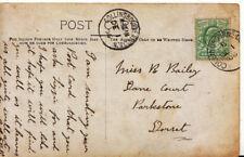 Family History Postcard - Bailey - Dane Court - Parkstone - Dorset - Ref 2663A