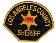 am20 Los Angeles County Sheriff Aufnäher Bügelbild Patch Applikation USA Police