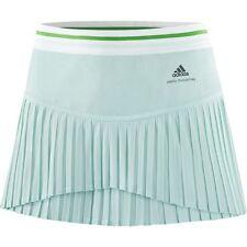 NEW Adidas Stella McCartney Barricade Women's Tennis Skort Fresh Aqua Size Large