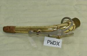 Bundy Selmer II 2 alto Saxophone sax Complete brass Neck w/ octave lever #pwdx