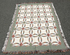 Wedding Quilt Quilted Tapestry Afghan Throw