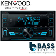 KENWOOD dpx-3000u DOPPIO DIN AUX USB iPhone iPod Android display Blu Stereo Auto