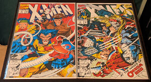 X-Men #4 & #5 2-Issue Lot !!1ST APPEARANCE & FULL COVER OF OMEGA RED!!