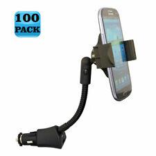 LOT of 100 - CAR MOUNT USB CHARGER SOCKET DOCK CRADLE HOLDER for SMARTPHONES