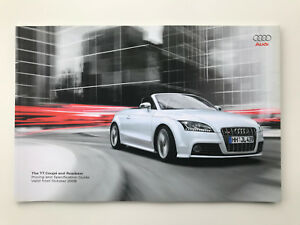 Audi TT Coupe & Roadster Price & Specifications list guide Model year 10 / 2008