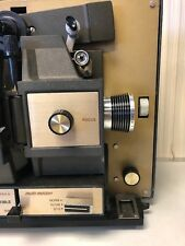 Vintage Bell & Howell Autoload 8mm 497A Motion Picture Projector, 120V 5Amp 60Hz