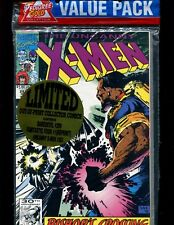 Treat Pedigree Gold Value 3-Pack VF+ Sealed X-Men #283 Daredevil #299 FF #1 Rep