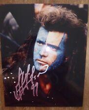 Mel Gibson autograph photo