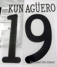 Manchester City Kun Agüero UEFA Champions League 2011/12 Camiseta De Fútbol Juego de nombre