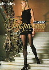 Trasparenze Oleandro Collection 20 Den Tights Classic Bronze Pantyhose Size XXL