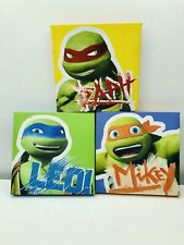 Ninja Turtle Canvas Wall Art Boys Room Viacom