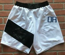 Brian Ortega autographed signed inscribed trunks UFC T-City w/ COA