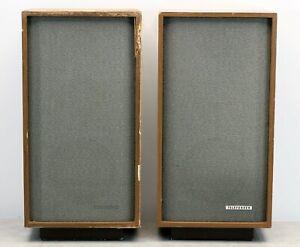 Telefunken TL80 Hi-Fi Klangbox Vintage Lautsprecher ein Paar, Loudspeaker