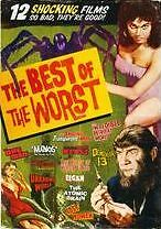 BEST OF THE WORST - 12 HORROR MOVIE COLLECTION (Johnson) - DVD - Sealed Region 1