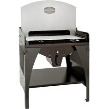 Barbecue-braciere-grill MAXI ROSSOFUOCO a legna/carbonella c/accessori e piani