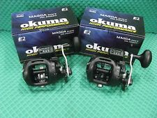 Okuma Magda Pro MA 20DXT Line Counter Trolling Reel 2 PACK!! NEW!!!