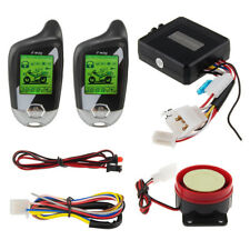 EASYGUARD 2 way motorcycle alarm motion sensor remote engine start LCD indicator