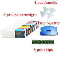 For Epson Empty Refillable Ink Cartridges for Epson Stylus Pro 7800/9800