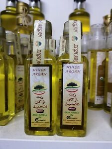 2X60ml Pure Moroccan extra virgin Cosmetic Organic Argan Oil.first  pressed.