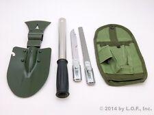 9 In 1 Emergency Tool Kit Shovel Axe Knife Hammer Ax Car Truck SUV Road Survival