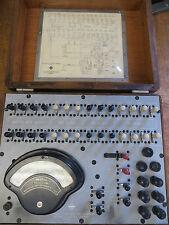 Vintage Automatic Electric Current Flow Test Set H-64645 W/Weston Model 269